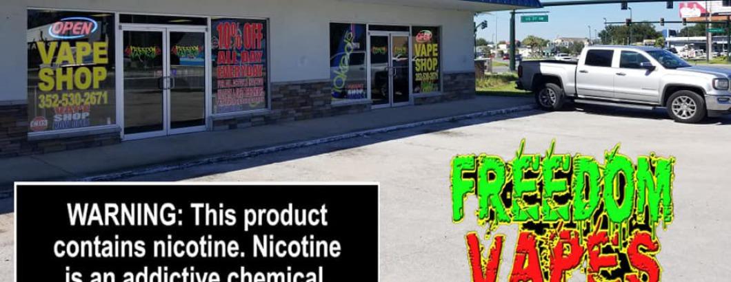 Freedom vape shops in Leesburg, Fl