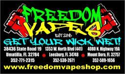 Vape shops in Leesburg, Umatilla Mount Dora Florida